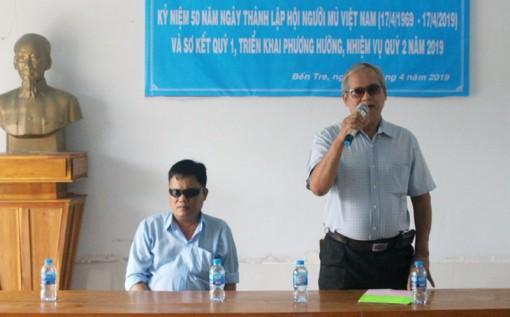 Kỷ niệm 50 năm ngày thành lập Hội Người mù