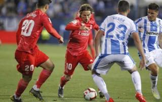 Vòng 32 La Liga: Leganes cầm hòa Real Madrid 1-1
