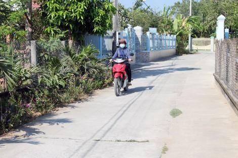 Lộc Thuận hướng tới xây dựng đô thị nông thôn mới