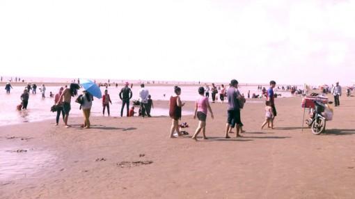 Cồn Bửng đón trên 10 ngàn du khách các ngày nghỉ Giỗ tổ Hùng Vương