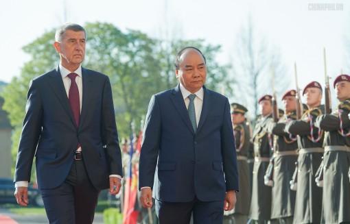 Việt Nam, Cộng hòa Séc ra Tuyên bố chung