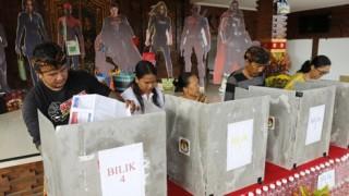 Đương kim Tổng thống Joko Widodo tuyên bố giành chiến thắng
