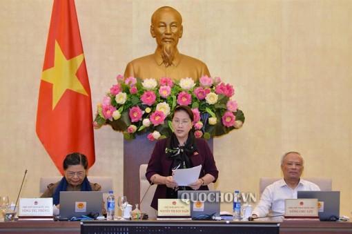 Hoàn thành Phiên họp thứ 33 Ủy ban Thường vụ Quốc hội với nhiều nội dung quan trọng