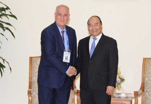 Thủ tướng tiếp đoàn các hãng thông tấn châu Á - Thái Bình Dương