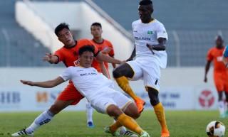 Vòng 5 V-League 2019: Đánh bại SHB Đà Nẵng, SLNA vươn lên vị trí thứ 2