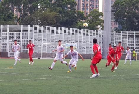 U18 Việt Nam thắng U18 Singapore 1-0