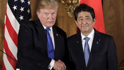 """Quan chức Mỹ và Nhật Bản tiến hành đối thoại theo thể thức """"2+2"""""""