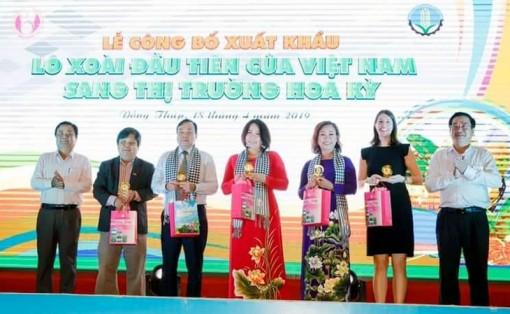 Xuất khẩu lô xoài đầu tiên của Việt Nam sang Hoa Kỳ