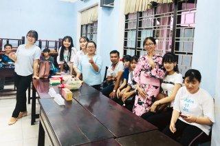 Tổ chức các lớp dạy tiếng Nhật miễn phí cho học sinh, sinh viên
