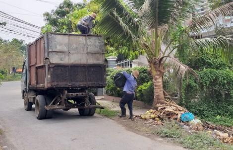 Xử lý rác thải ở khu dân cư