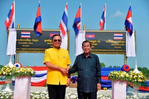 Thái Lan và Campcuhia mở lại tuyến đường sắt nối hai nước