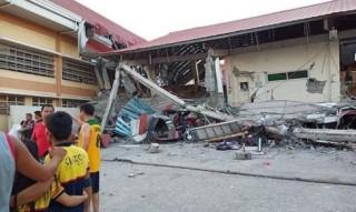 Gần 100 người thương vong do động đất mạnh 6,1 độ tại Philippines
