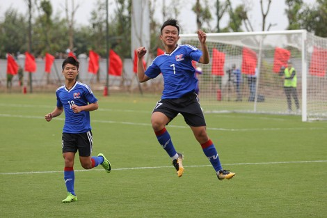 Đội trẻ PVF giành thành tích ấn tượng ở giải châu Âu