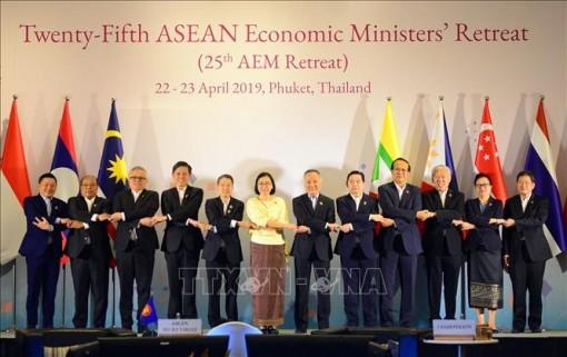 Việt Nam tham dự Hội nghị hẹp Bộ trưởng Kinh tế ASEAN lần thứ 25