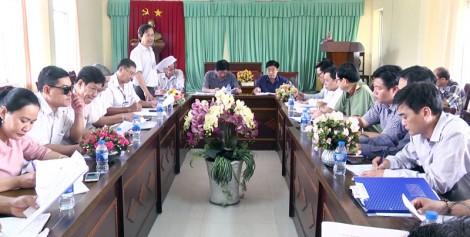 Họp bàn kế hoạch tổ chức Lễ hội Cây - trái ngon, an toàn lần thứ XVIII năm 2019