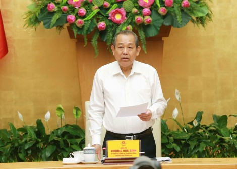 Phó thủ tướng Trương Hòa Bình chủ trì Hội nghị toàn quốc về bảo đảm trật tự an toàn giao thông