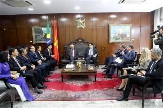 Việt Nam và Brazil tăng cường hợp tác trong lĩnh vực lập pháp