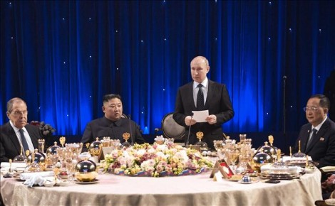 Hội nghị thượng đỉnh Nga - Triều: Hai bên không ra tuyên bố chung