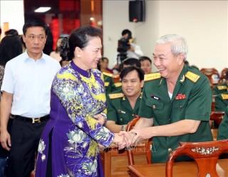 Chủ tịch Quốc hội dự Lễ kỷ niệm 44 năm Ngày Giải phóng Cần Thơ