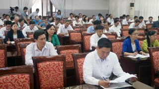 Hội nghị cán bộ chủ chốt quán triệt các chỉ thị, kết luận của Bộ Chính trị, Ban Bí thư