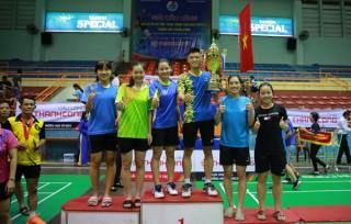 Bế mạc giải cầu lông CLB toàn quốc: Thái Bình giành giải nhất toàn đoàn