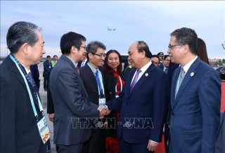 """Thủ tướng kết thúc tốt đẹp chuyến tham dự Diễn đàn cấp cao hợp tác quốc tế """"Vành đai và Con đường"""" lần thứ hai"""