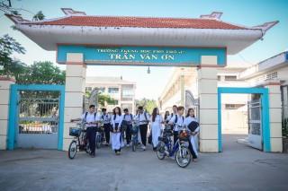Tự hào ngôi trường mang tên anh hùng Trần Văn Ơn