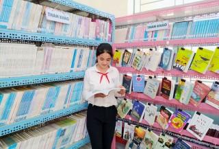 Thư viện xanh ở xã biển Thạnh Phong