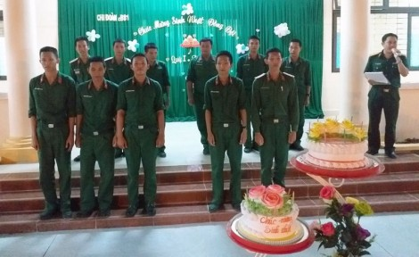 Nâng cao chất lượng phối hợp trong quản lý, giáo dục chiến sĩ mới