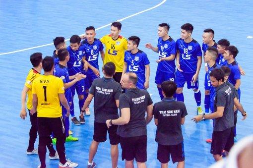 """CLB Thái Sơn Nam trở lại """"đường ray"""" đua vô địch giải futsal Quốc gia 2019"""