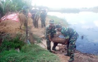 Lực lượng vũ trang tỉnh: Hưởng ứng Tháng hành động về an toàn vệ sinh lao động