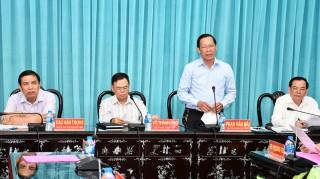 Ban Thường vụ Tỉnh ủy hội nghị đột xuất tháng 5-2019