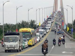 Ký kết đảm bảo an toàn giao thông đoạn đường vào cầu Rạch Miễu