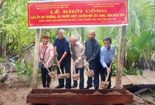 Khởi công xây dựng cầu ấp An Trường, xã Phước Hiệp