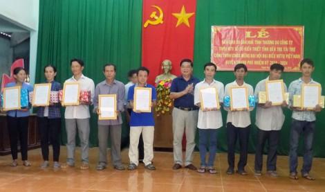 Bàn giao 30 căn nhà tình thương cho hộ nghèo huyện Thạnh Phú