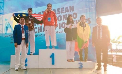 Hai vận động viên của tỉnh đoạt huy chương vàng và đồng