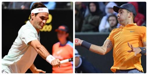 "Federer - Coric: ""Tra tấn"" khủng khiếp, siêu nhân FedEX"