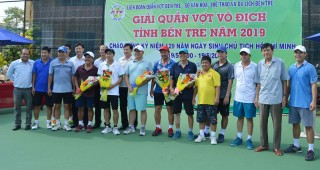 Giải Quần vợt vô địch tỉnh Bến Tre chào mừng sinh nhật Bác