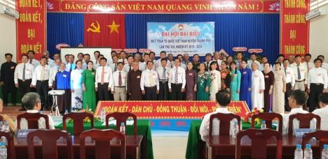 Đại hội Mặt trận Tổ quốc huyện Thạnh Phú lần thứ VIII, nhiệm kỳ 2019 - 2024 thành công