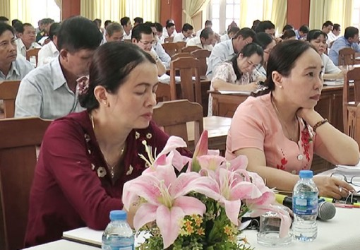 Châu Thành tổ chức hội nghị giới thiệu nhân sự dự kiến đưa vào quy hoạch