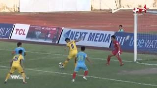 SLNA và Sanna Khánh Hòa không có bàn thắng