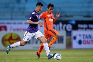 Vòng 10 V-League: Hà Nội FC thắng SHB Đà Nẵng 3-2