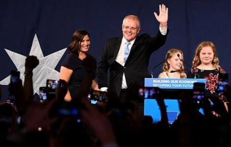 Bầu cử Australia: Đảng Tự do của Thủ tướng Scott Morrison giành chiến thắng