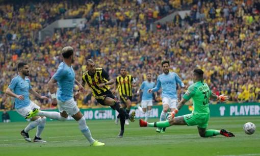 Chung kết Cúp FA: Man City xuất sắc đánh bại Watford 6-0