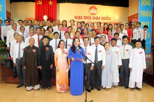 Bà Nguyễn Thị Mai Rí tái đắc cử Chủ tịch Ủy ban MTTQ Việt Nam TP. Bến Tre
