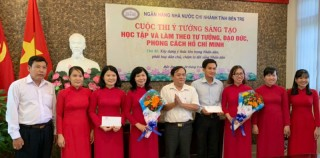 Hội thi ý tưởng sáng tạo trong học tập và làm theo tư tưởng, đạo đức, phong cách Hồ Chí Minh