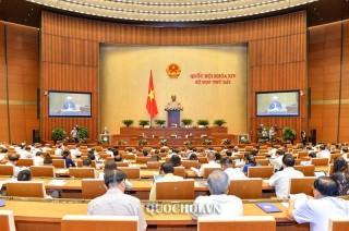 Quốc hội nghe Báo cáo giải trình, tiếp thu, chỉnh lý dự thảo Luật Giáo dục (sửa đổi)