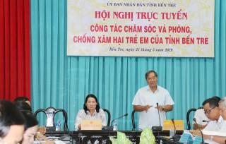 Hội nghị trực tuyến công tác chăm sóc và phòng chống xâm hại trẻ em