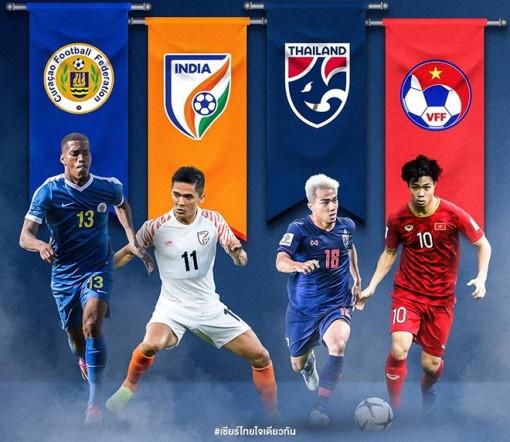 Bản quyền hai trận đấu của đội tuyển Việt Nam ở King's Cup 2019 có giá đắt đỏ