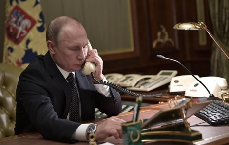 Lãnh đạo Đức, Nga và Pháp điện đàm thảo luận nhiều vấn đề nóng